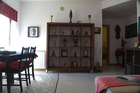 """""""The House of Statues"""" Apartment"""