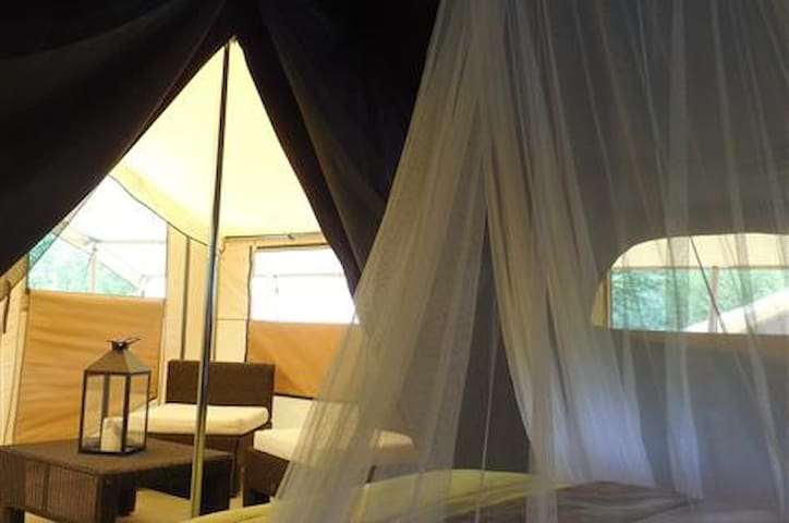 Lodge Romantika idéal pour les amoureux ! - Charny-Orée-de-Puisaye - 小平房