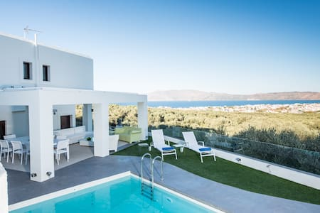 Sea Views Villa Elea, surrounded by an Olive Grove - Kissamos