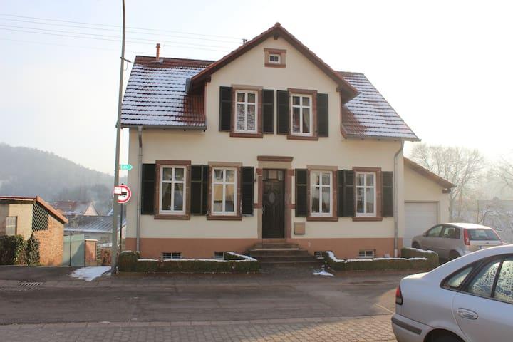 Gemütliches Ferienhaus am Wald - Rehlingen-Siersburg - 獨棟