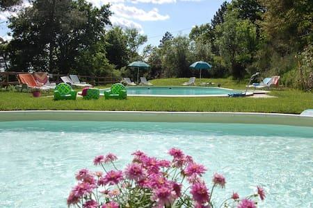 Home4Italy Chalets with panoramic views & pool - Castra