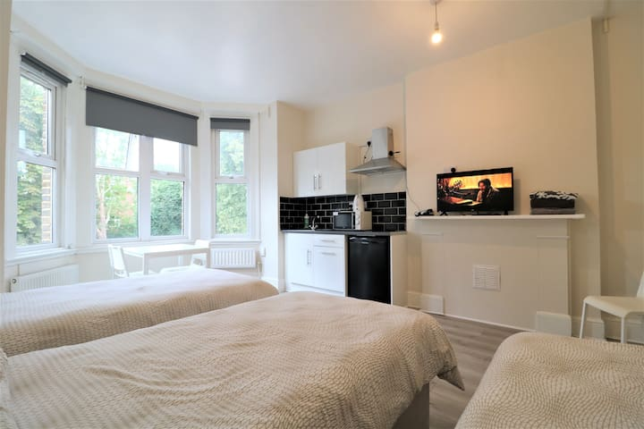 Large budget triple room in heart of Ealing