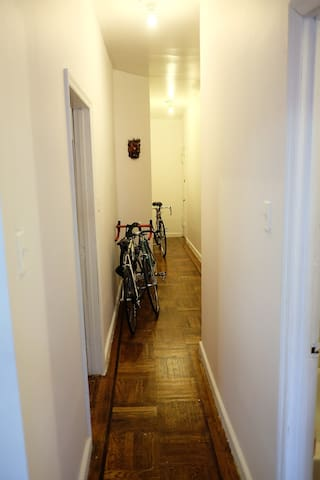 The bikes won't be there!