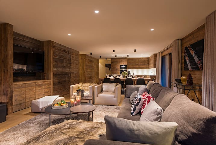 Phenomenal chalet with Spa and sauna in great