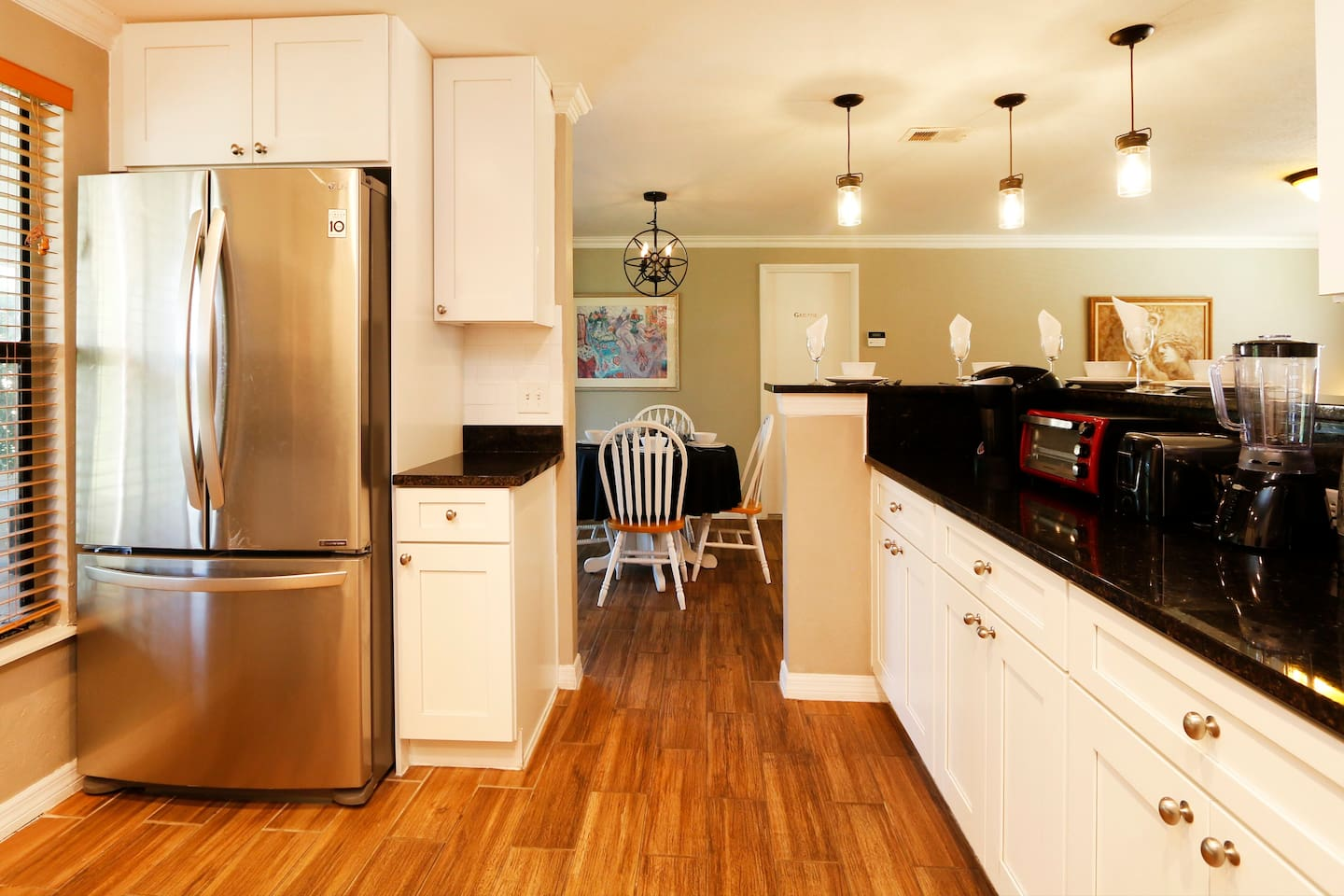 Refrigerator to store food for your entire stay