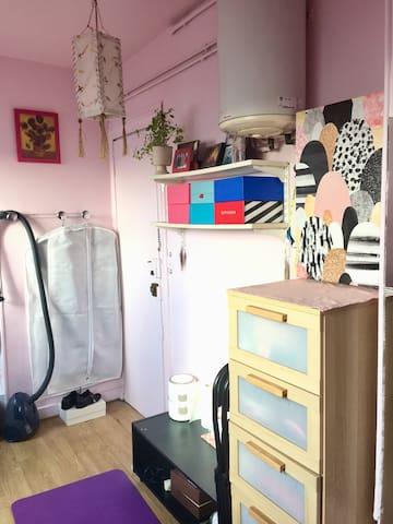 Cozy studio in the center of Paris小巴黎2区温馨开间步行可达卢浮宫