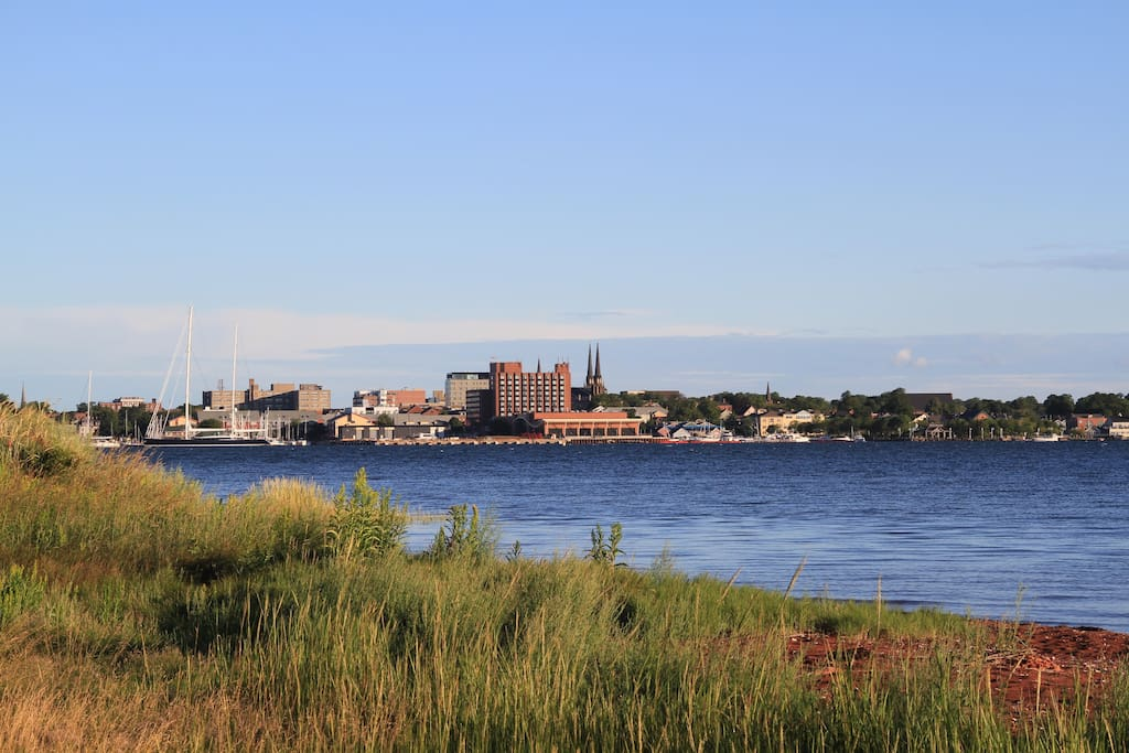 A view of the beautiful Charlottetown Harbour Front - right from the house!