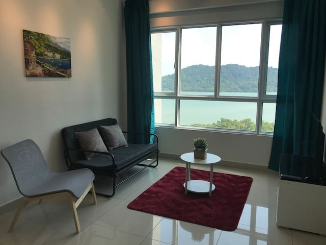★Venus Suite★ Cozy Seaview, 10min to Airport, Mall