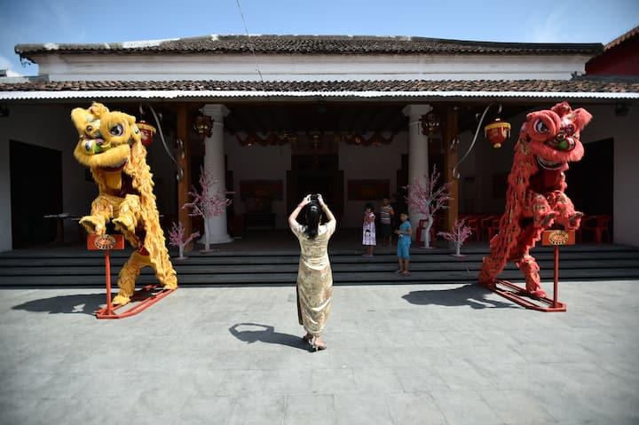 Rumah lawas bernuansa Cina Hindia di Lasem