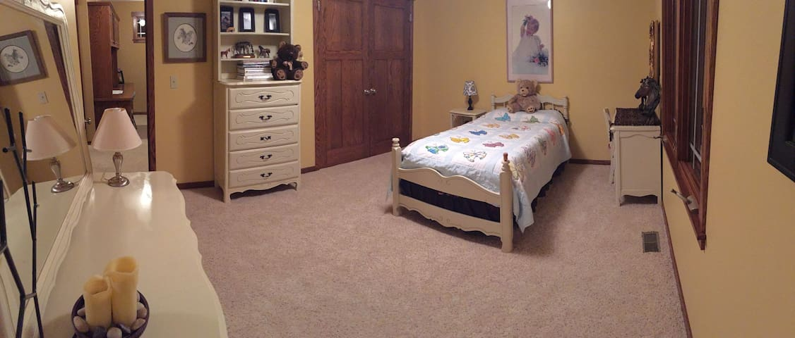 Twin Bed in Rm in Arts&Crafts home - Ham Lake - Hus