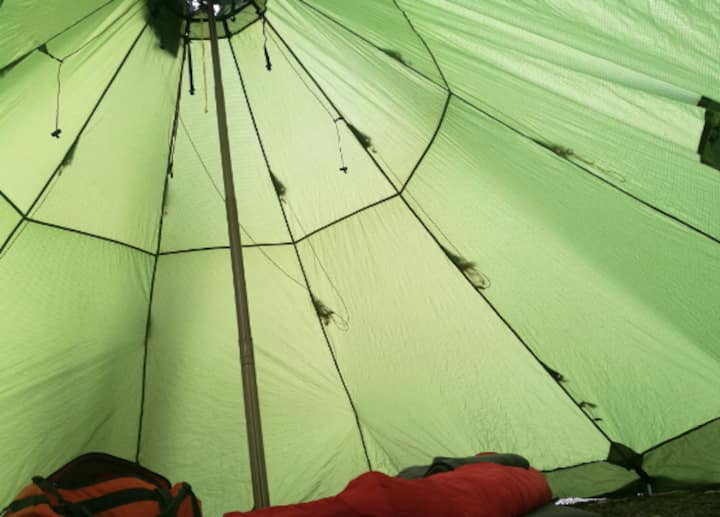 Camping in the City Center