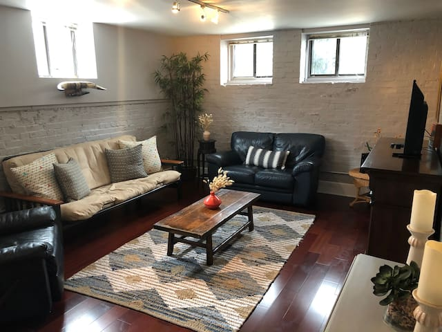 2BR Condo Downtown near Mass Ave | Free Parking