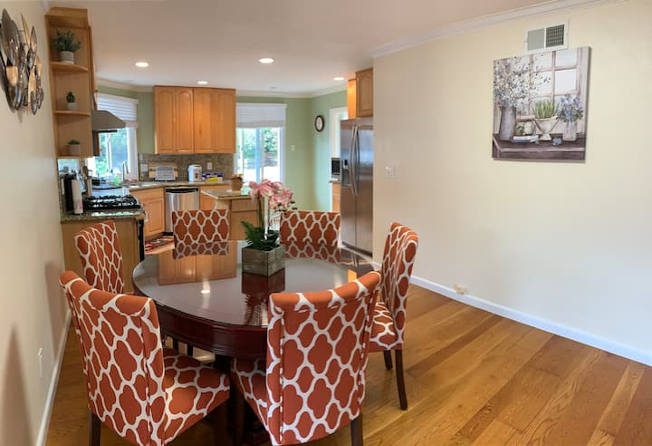 Newly Remodeled 3BD Single House. Near SFO Airport