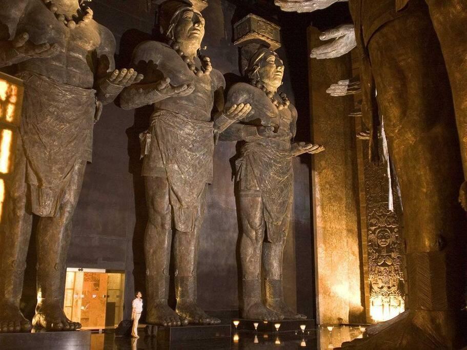 Grand Mayan Entrance