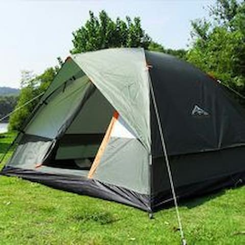 The private camping zone