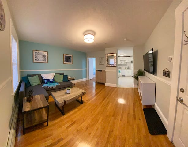 Newly Updated Spacious 1 BR Apt.  2 Beds, Parking