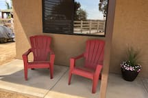Enjoy the peace and quiet on the front porch