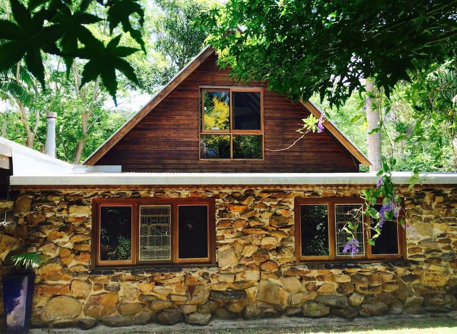 Rambling farm house