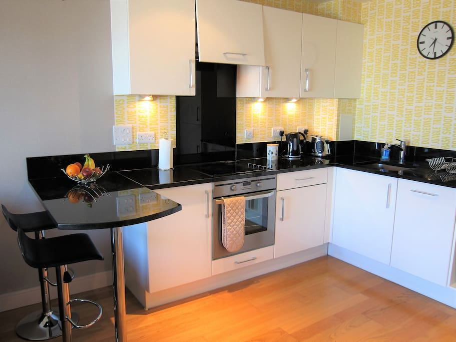 Modern quality kitchen with all appliances