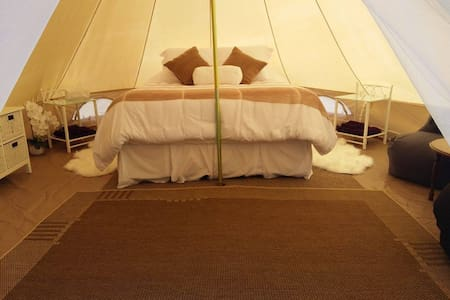 Hinterland Glamping with tranquil valley views - Main Ridge - เต็นท์