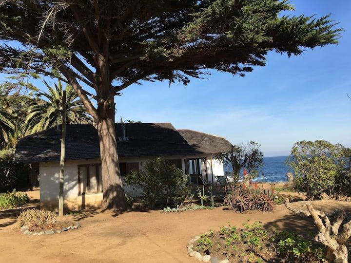 Casa con vista al mar y pasos Museo Pablo Neruda