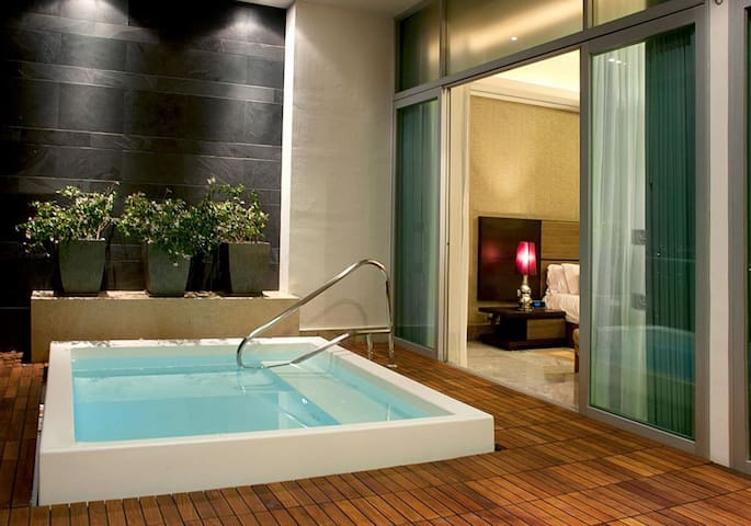 GrandLuxxe Luxus-Suite mit Küche und Wohnbereich - Nuevo Vallarta - Serviced flat