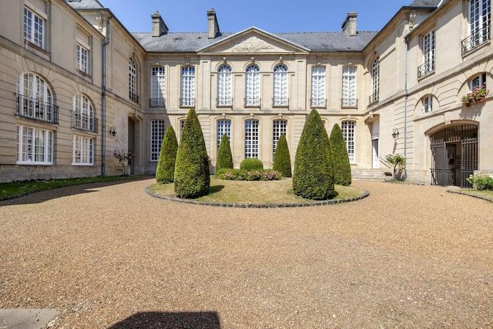 Appartement du patrimoine à Bayeux près du Musée d'Art