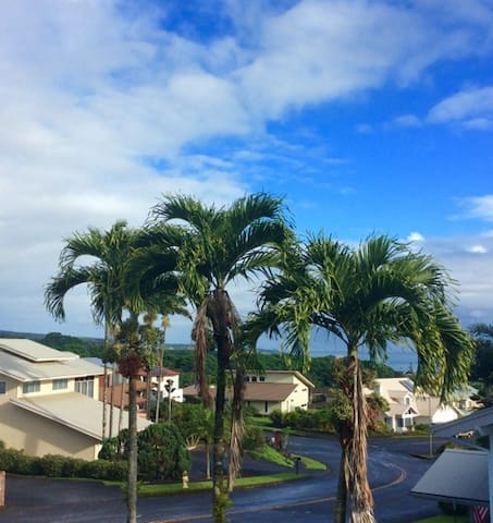 Sensational 3 Bedroom 2 Bath Apt with ocean views! - Hilo - Appartement