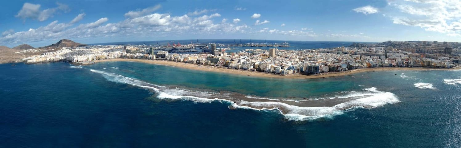Accommodation in the upper area of Las Palmas de G - Las Palmas de Gran Canaria - Apartment