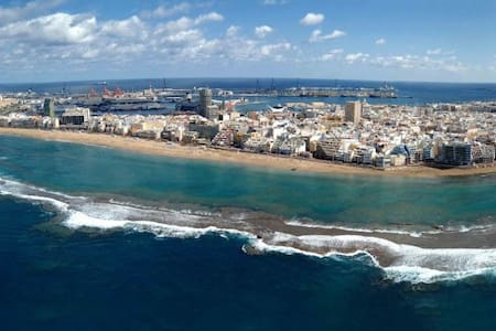 Alojamiento en la zona alta de Las Palmas de GC. - Las Palmas de Gran Canaria - Apartemen