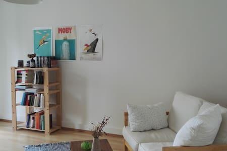 Cozy central apartment near the river - Zürich - Apartment