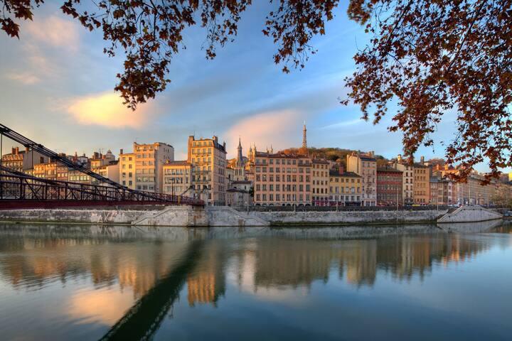 Joli cocon au cœur du Vieux-Lyon