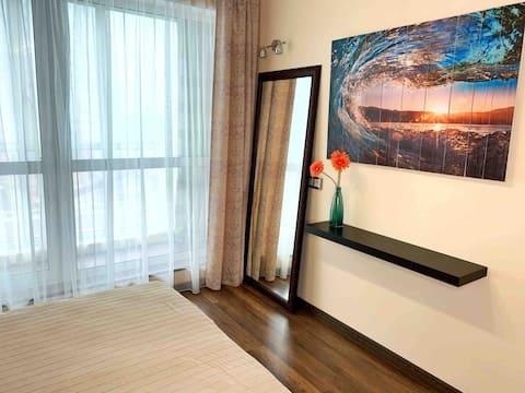 Светлые апартаменты у моря Владивосток