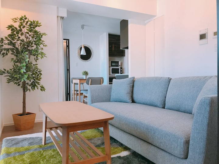 Refreshing 2BR Design Home in Otemachi/Kanda