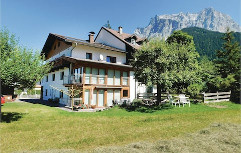 Nice home in Ehrwald with WiFi and 1 Bedrooms