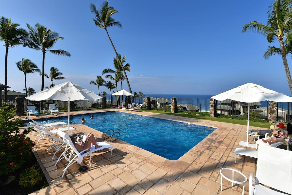 One of the beautiful Kapalua Bay Villas pools!