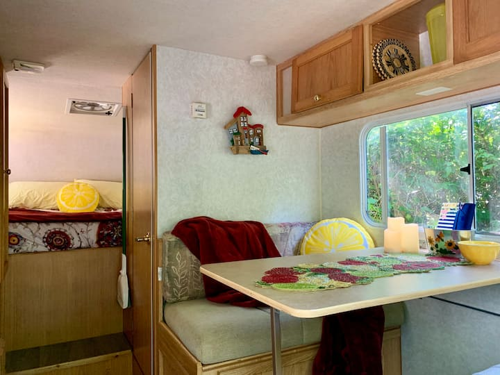 Lemondrop*Remote*Oceanfront*Private*Cozy Camper