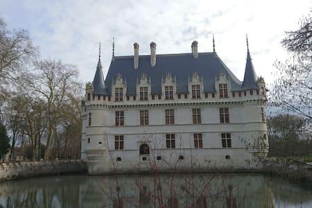 Gîte très calme et reposant entre Loire et Chateau