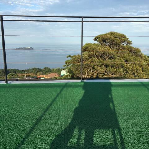富士と海と森の見える、温泉別荘 - 熱海市 - House