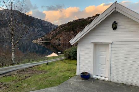 Cozy little house in Forsand (Lysefjorden)