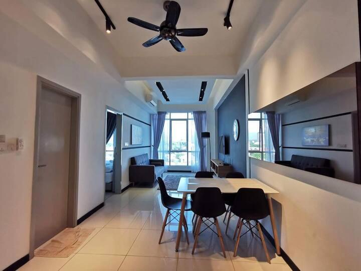 A-Home[3] @ Sutera Avenue | 市中心2-6人公寓套房-闺密好友出游入住首选