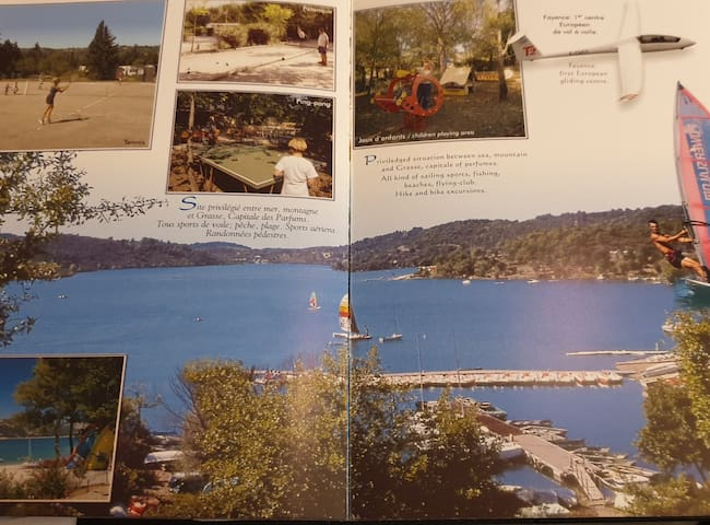 Mobil home  proche Lac et Mer Montauroux