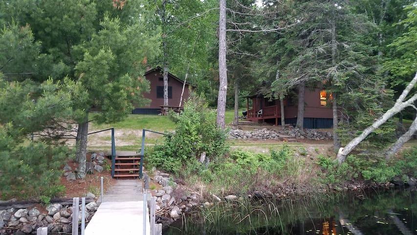 Birch Cabin at beautiful Vintage Vermilion resort