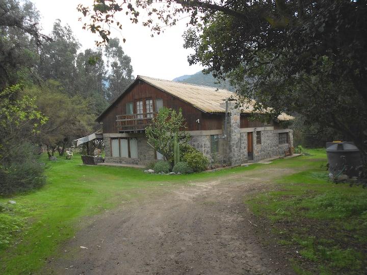 Alojamiento  casa de campo Olmué