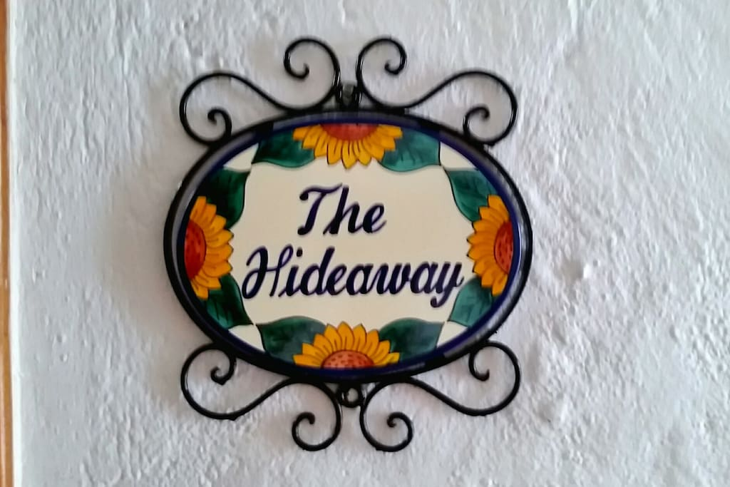 "Welcome to ""The Hideaway"""