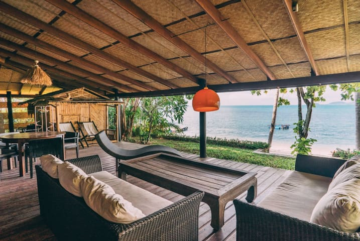 Garden house, Beach Front, Lipa Noi - Ko Samui - Appartement
