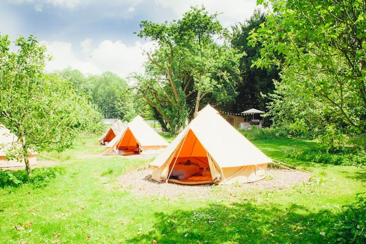 Walled Garden Glamping