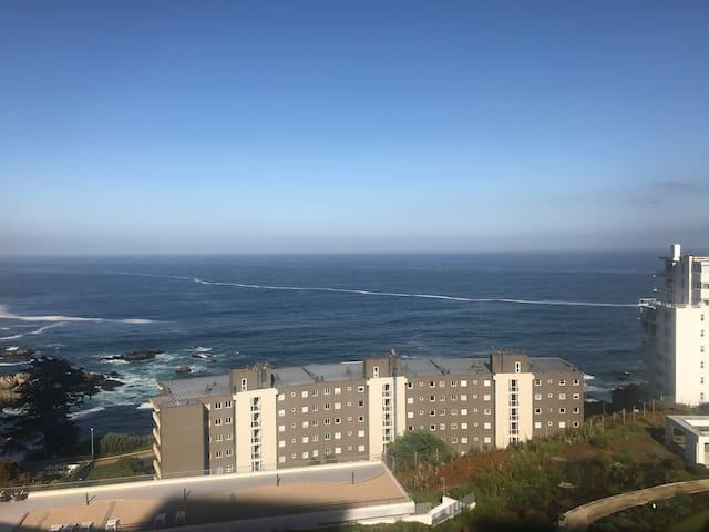 Vista al Mar en Concón Departamento