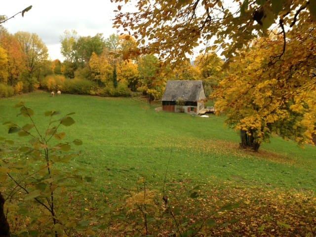 La grange GEBRAECH - Soultzeren - Casa