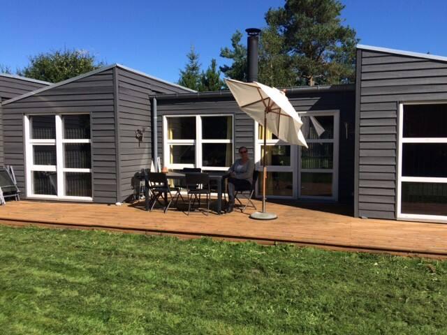 Sommerhus. 10 km fra Ebeltoft - Ebeltoft - Srub
